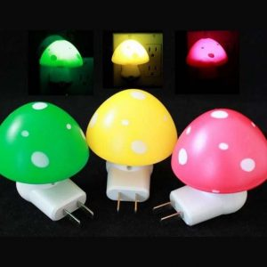 Mushroom Design LED Night Light