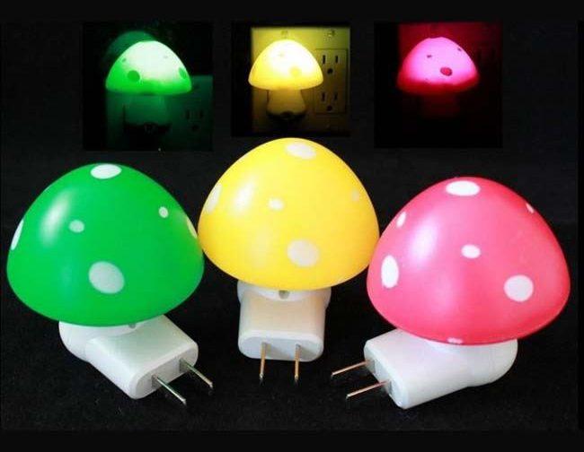 Mushroom Design Led