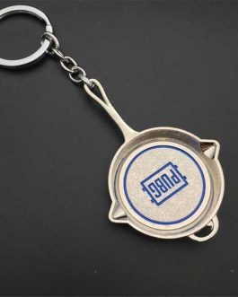 PUBG Key Ring Silver pan