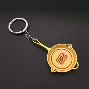 PUBG Key Ring Golden Pan